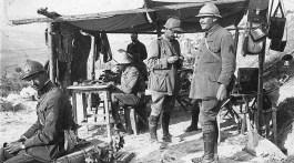 29 Septembre 1918 - Suite à la victoire de la Moglena, prise d'Uskub