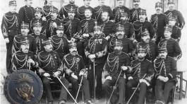 Officiers cadres de Saint Maixent en 1886-1887.