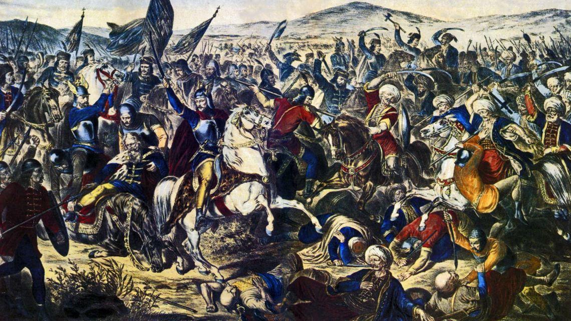 Bataille de Kosovo Polje (Kosovo)