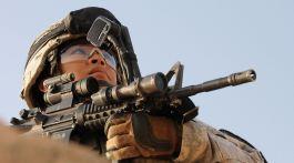 Soldat féminin US