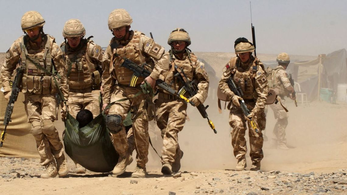 Soldats britanniques en Irak
