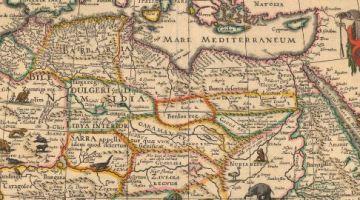 Afrique du nord - carte
