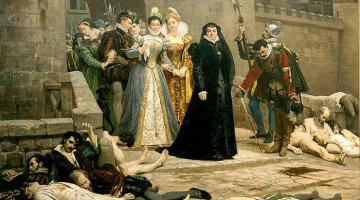 Catherine de Médicis le lendemain du massacre de la Saint Barthélémy
