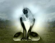 Femme rayonnante