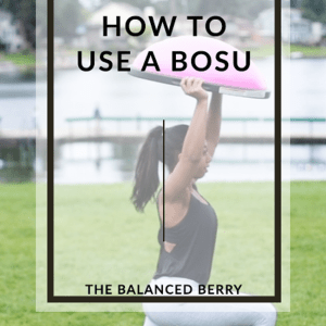 {Video} How to use a BOSU