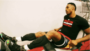 Dwight Howard Blood flow restriction