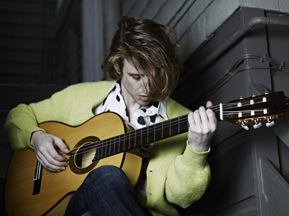 Christopher Owens Photo by Hedi Slimane