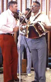 Vinesse LeJeune, Alphonse Ardoin and Canray Fontenot