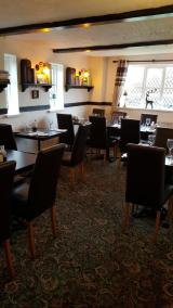 Dining area in pub