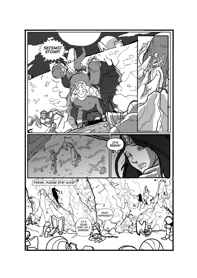 Issue 01, Page 32, Stampede!