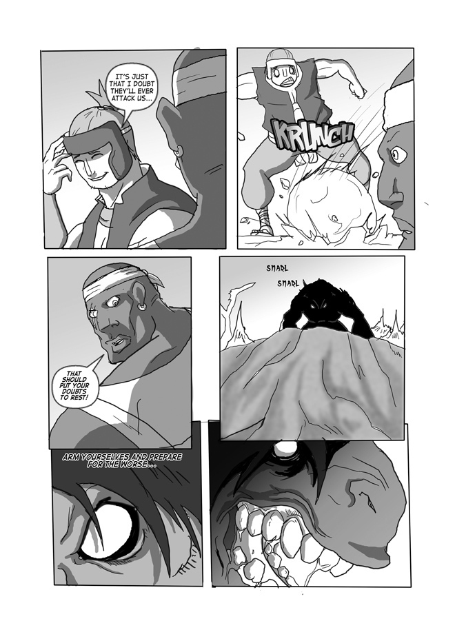 Issue 07, Page 3, Invaders