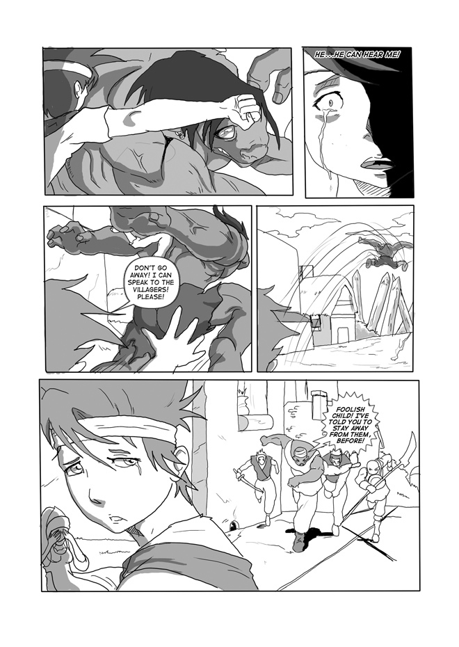 Issue 07, Page 14, Surprised Reaction