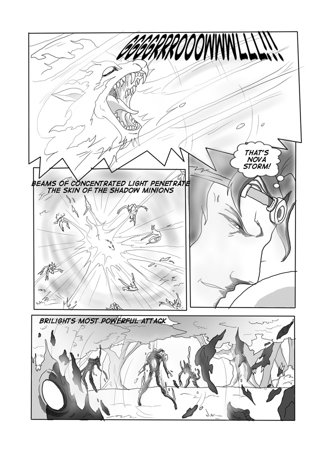 Issue 07, page 34. Brilight's Power