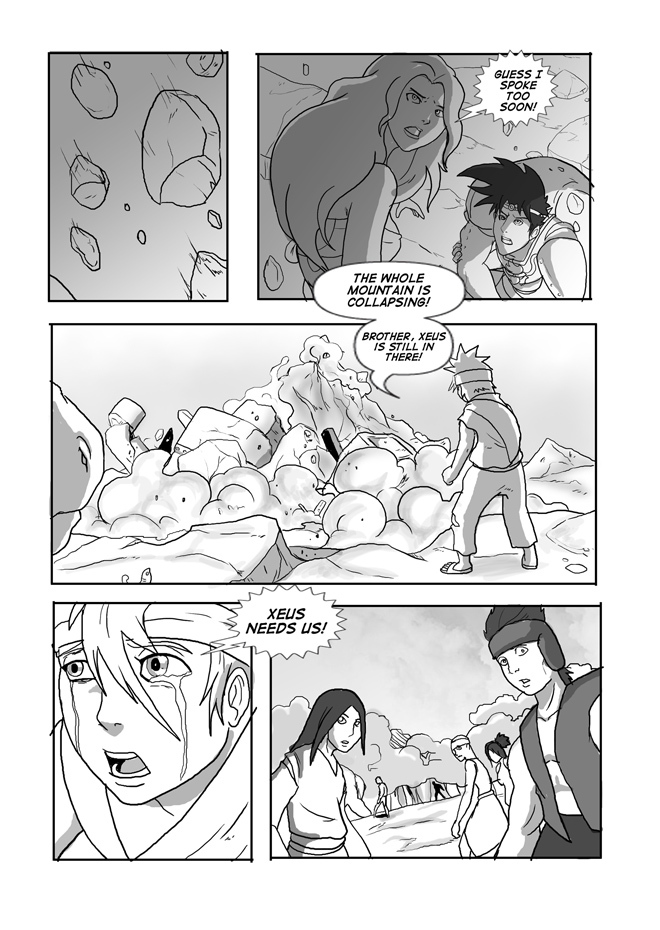 Issue 09, Page 54, The Mine Collapses