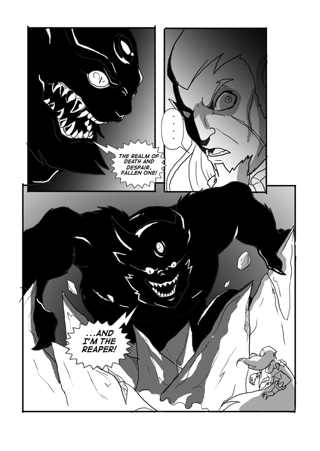 Issue 10, Page 36, Nightmare Continues