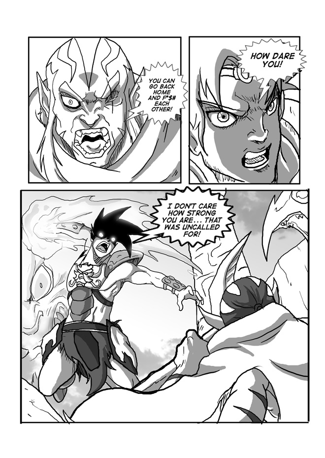 Issue 11, Page 15, Angry Sage gets Personal