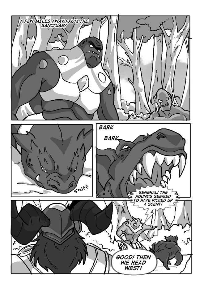 Issue 12, Page16, Danger Approaches