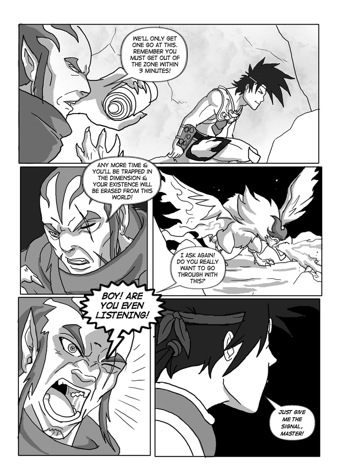 Issue 12, Page 22, Preparing to Embark