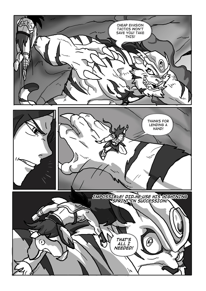 Issue 13, Page 11, Lending a hand