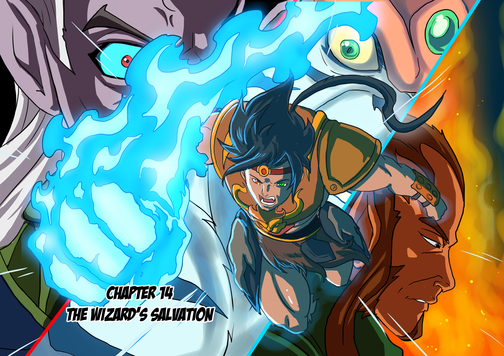 Issue 14: The Wizard's Salvation... Commences