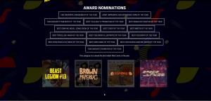 webcomic nominations cca