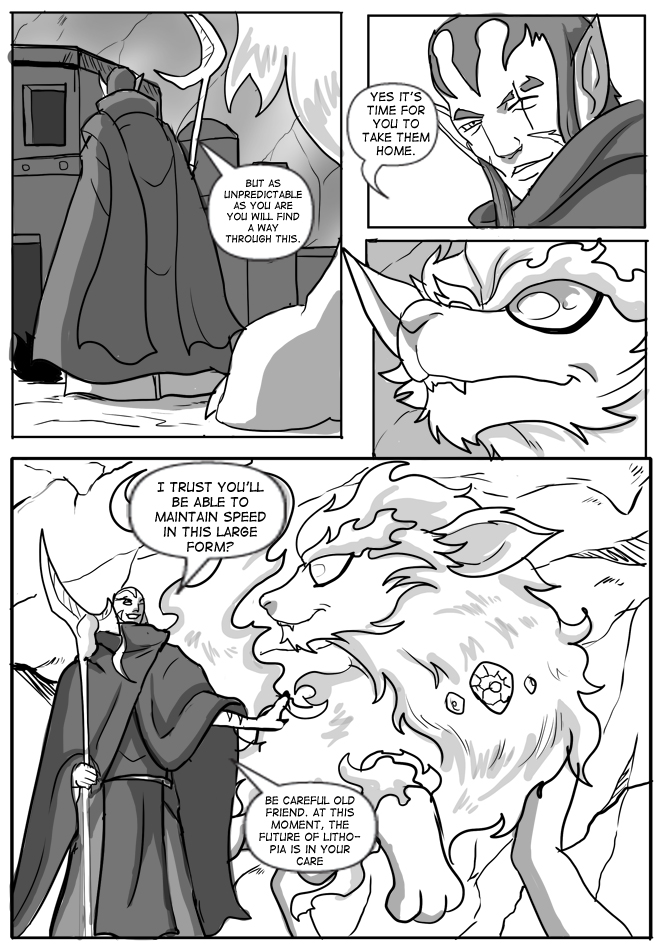 Issue 14, Page 22, Prepare to Leave