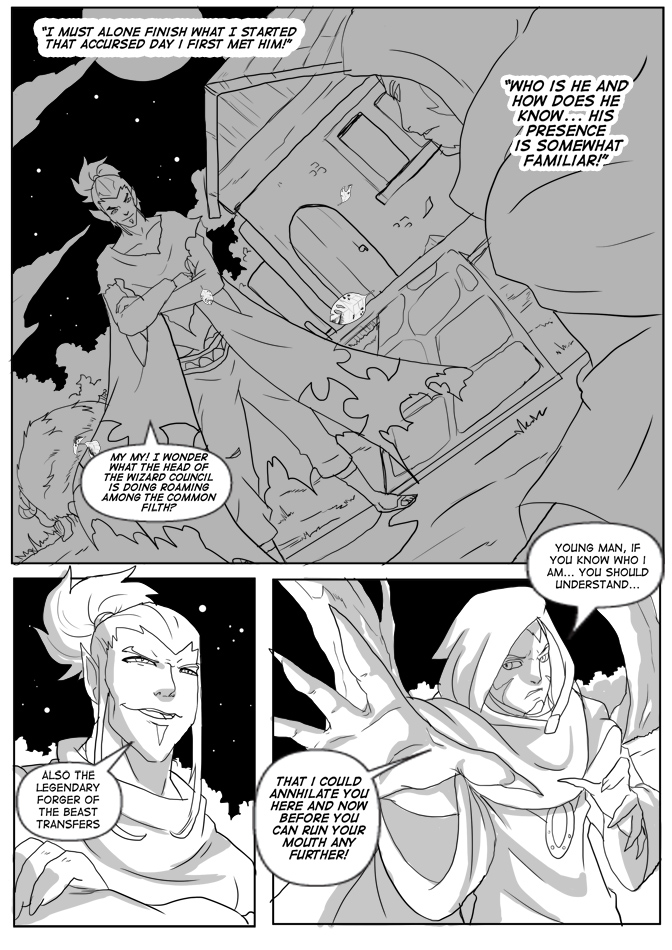 Issue 14, Page 27, Fated Past