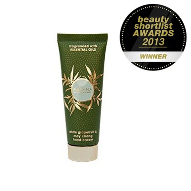grapefruit hand cream award