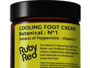 cooling foot cream