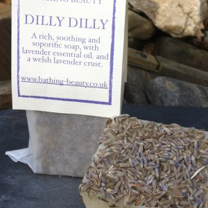 dilly lavender soap