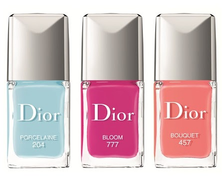 dior trianon nails  trio