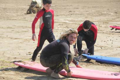 rachid surf lesson