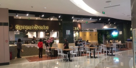R New Healthy Lunch Set at Sproutworks in China World Mall, Doesn't Work For Us Yet