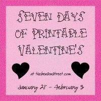Chewing Gum Valentine {Printable Valentines Day Six}