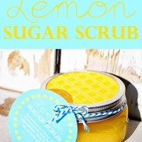 Easy Lemon Sugar Scrub