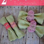 Spring Napkin Ring Tutorial {2 in 1}