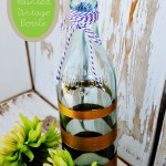 DIY Painted Vintage Bottle