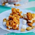 Salted Nut Roll Cookies