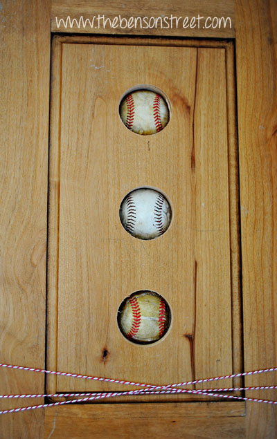 Baseball Decor Easy at www.thebensonstreet.com
