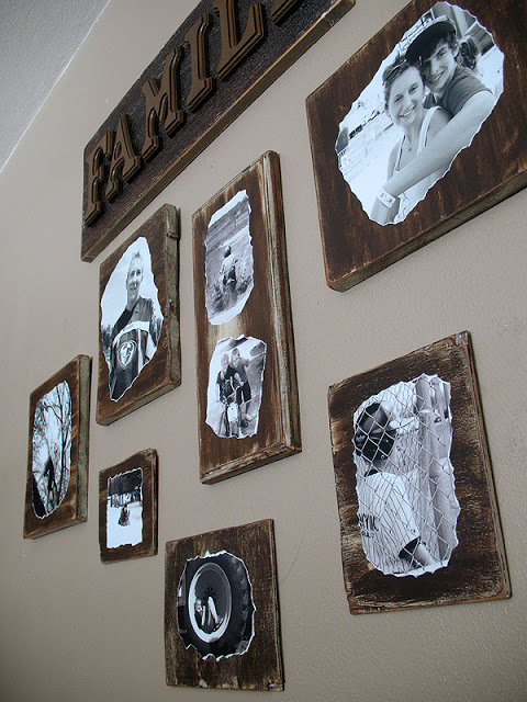 Family Photo Plaques