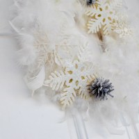 Updated Snow Wreath plus Blog Hop