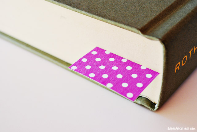 Radiant Orchid Printable Bookmarks at thebensonstreet.com