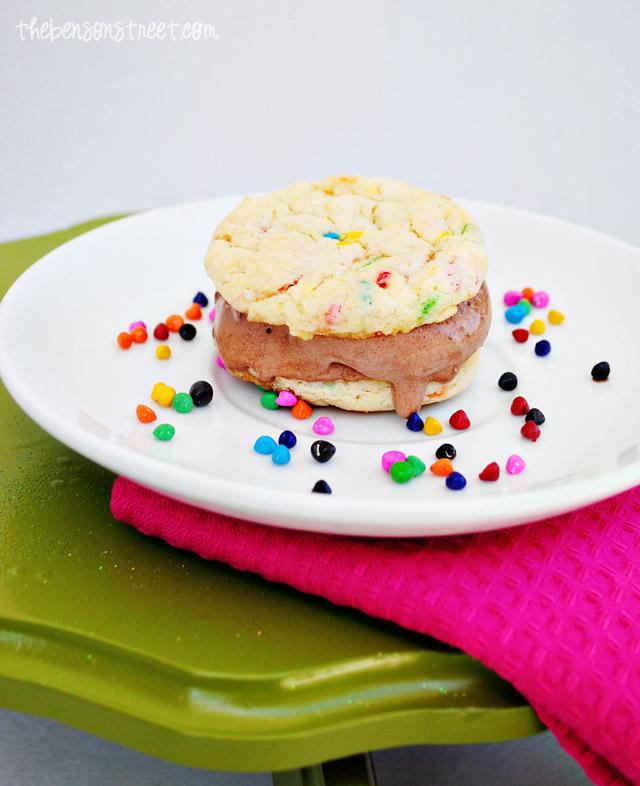 Homemade Ice Cream Sandwiches at thebensonstreet.com
