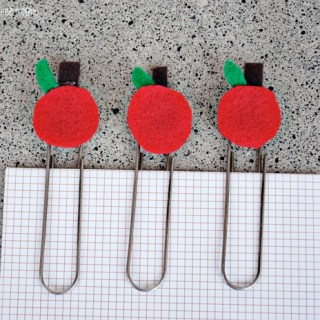 Adorable Apple Paperclips for Teachers at thebensonstreet.com
