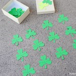 DIY Shamrock Matching Game