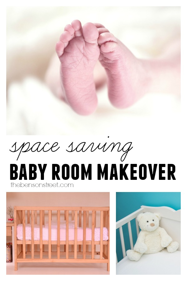 Space Saving Baby Room Makeover  at thebensonstreet.com