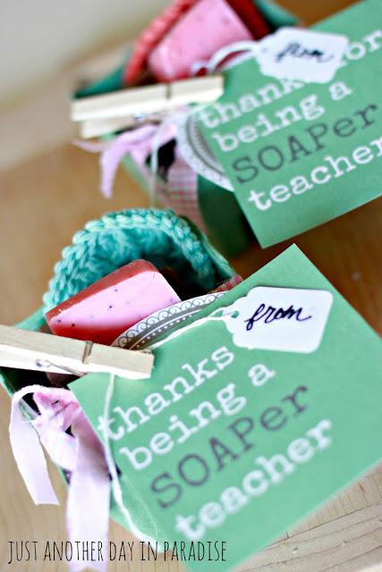 Soaper Teacher Gift