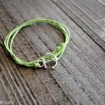 Simple Anchor Charm Bracelet