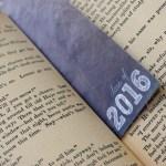 2016 Printable Graduation Bookmarks