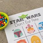Star Wars Don't Eat Pete Printable